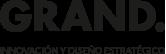 Logo GRAND, Innovación y diseño estratégico